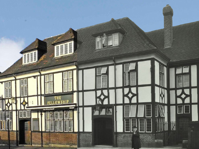 See London's First Housing Estate Pub - Then And Now