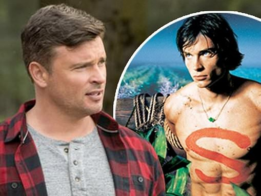 Smallville's Tom Welling returns as Clark Kent in The CW's crossover event