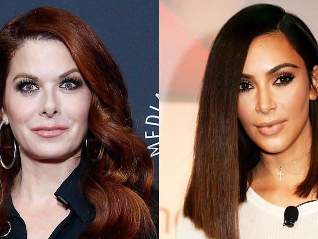 Debra Messing Questions Why Kim Kardashian Gets to Host 'Saturday Night Live'