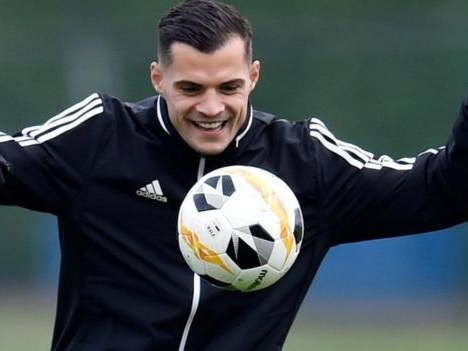 Arsenal boss Emery 'doesn't know' if Xhaka will play for club again