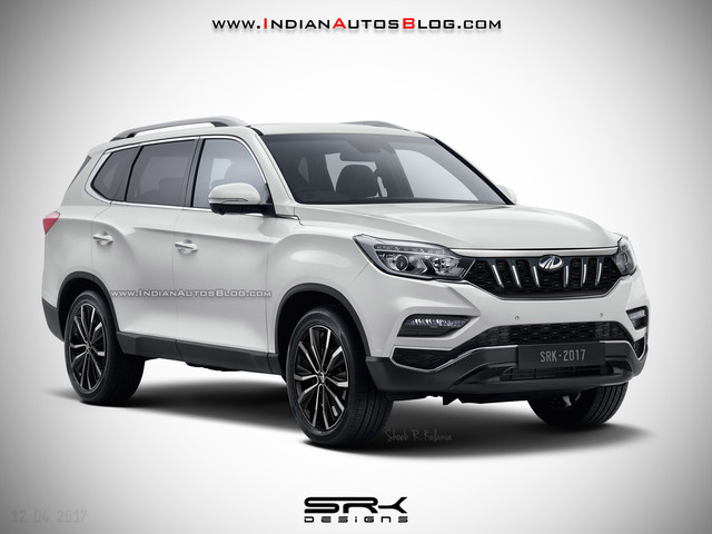 Can A Mahindra Faced SsangYong Rexton Envision The Upcoming Mahindra XUV700?