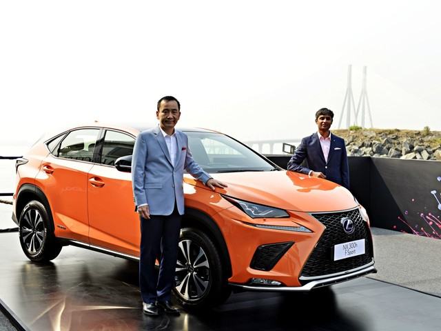 New Lexus NX300h Hybrid Electric Vehicle Unveiled In India; Prices To Be Announced By January 2018