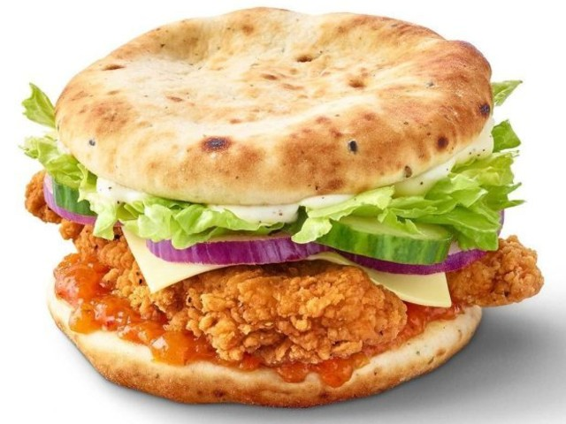McDonald's fans slam its new naan burger for being 'dry' and 'messy' to eat – but they love the flavour