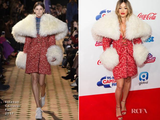 Rita Ora In Esteban Cortazar – Capital's Jingle Bell Ball