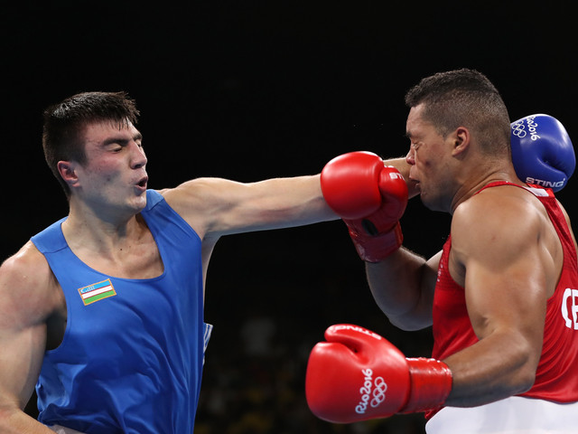 Two-time Asian super heavyweight champion Jalolov impresses in first bout of AIBA Men's World Championships