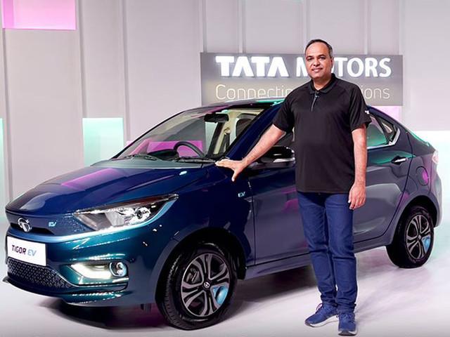 2021 Tata Tigor EV launched at Rs 11.99 lakh; gets 306km range