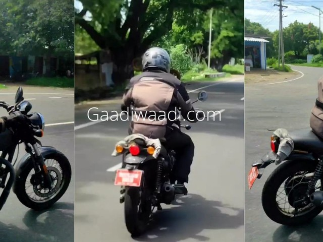 Royal Enfield Hunter 350 Spotted Testing Again; Launch In Early 2022
