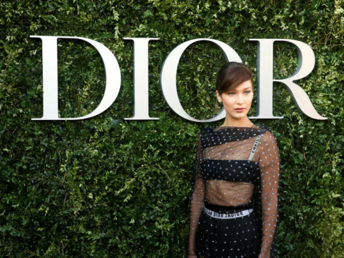 Stars beat a path to huge Christian Dior museum show