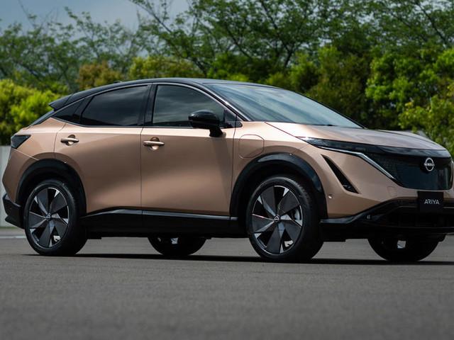 Nissan Ariya electric SUV revealed