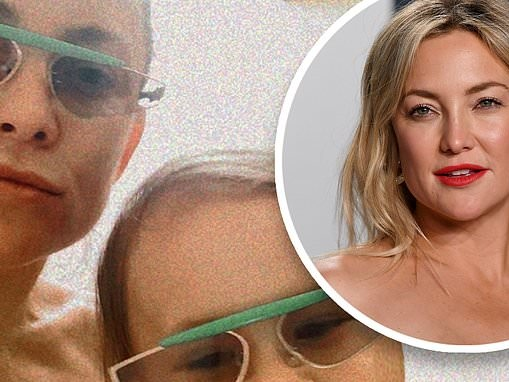 Kate Hudson and her mini-me Rani wear matching sunglasses in sweet mother-daughter selfie