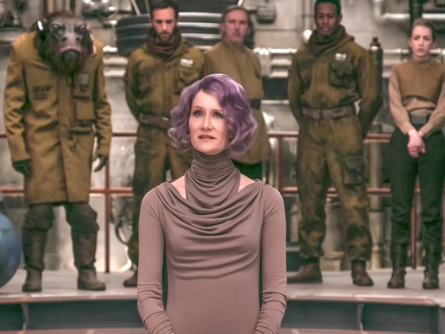 "Laura Dern's Offbeat 'The Last Jedi' Character Will ""Shake Things up"" in The Resistance"
