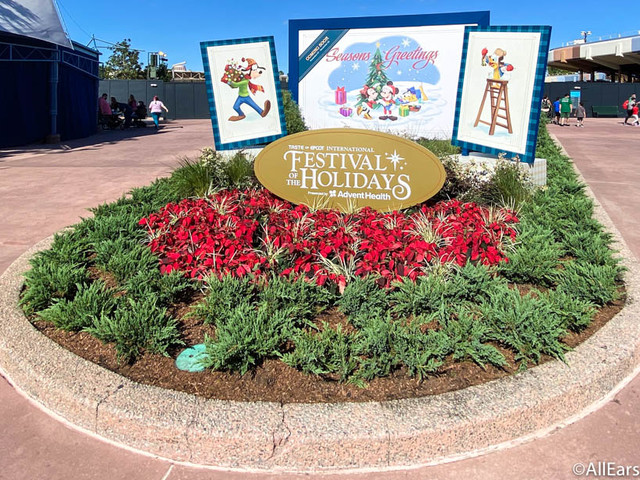 4 Things at This Year's EPCOT Festival of the Holidays That DON'T Involve Eating!