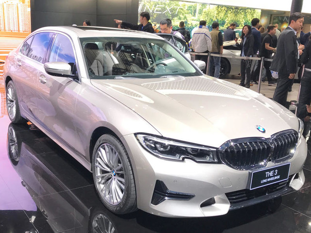 New BMW 3 Series LWB showcased at Auto Shanghai 2019