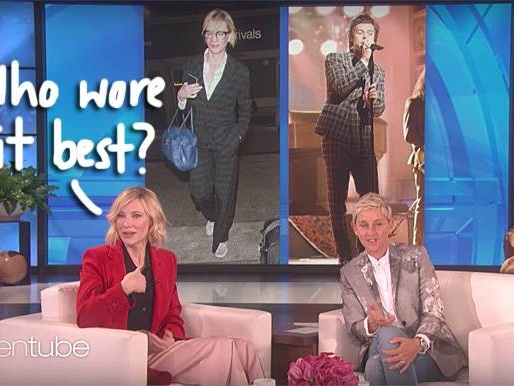 Is Harry Styles Copying Cate Blanchett's Style? Cate Weighs In…
