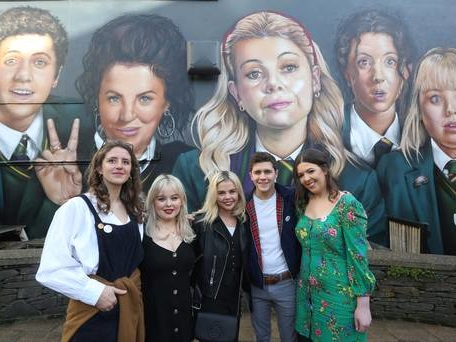Watch: Derry Girls' writer Lisa McGee 'exploring' ideas for movie of hit comedy