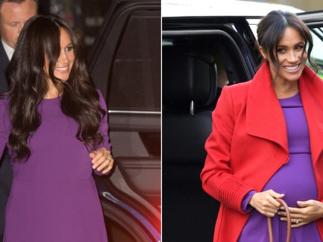 Meghan Markle rewore a $49 dress from her pregnancy for her first public appearance since her emotional documentary aired