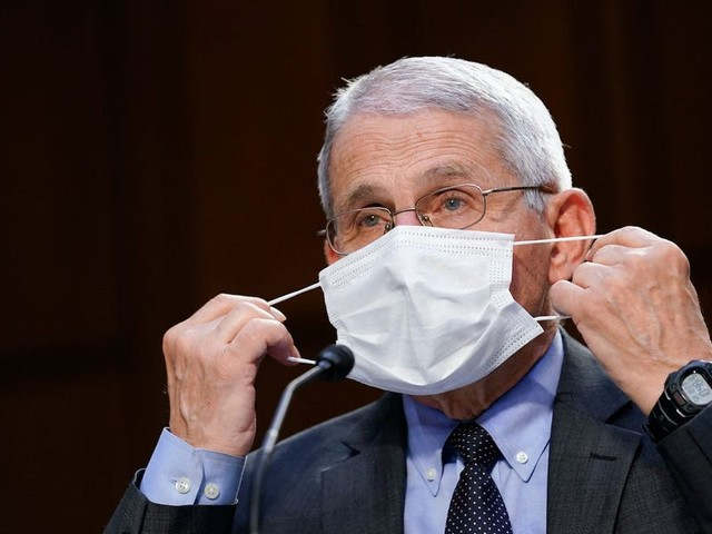 Fauci says fully vaccinated people 'might want to consider' wearing a mask indoors as a precaution against the Delta variant