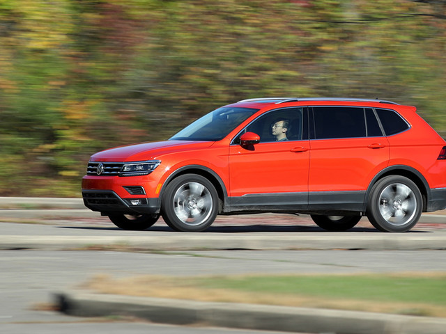 2018 Volkswagen Tiguan FWD Tested: Size Matters