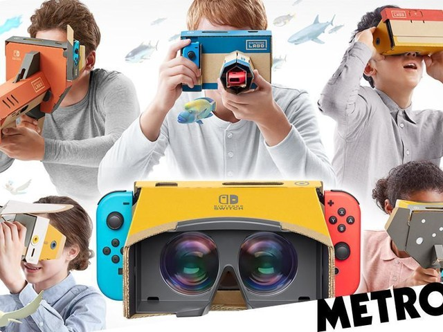 Nintendo Labo VR hands-on preview – virtual cardboard reality