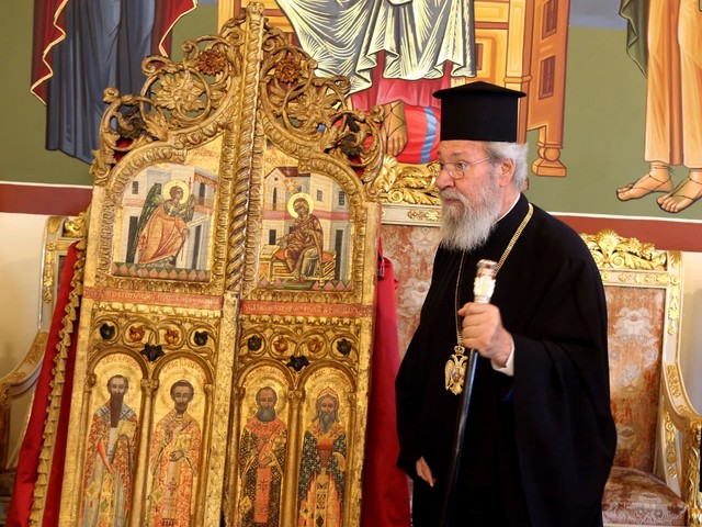 Cyprus recovers looted 18th century church doors from Japan