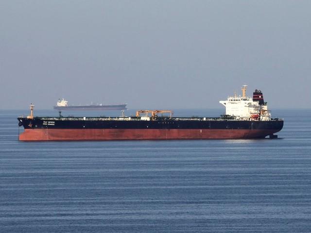 Iran says its forces seized a British-flagged tanker in the Strait of Hormuz and directed it to Iran