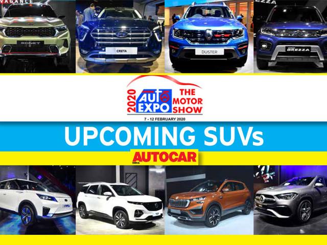 Upcoming SUVs from Auto Expo 2020