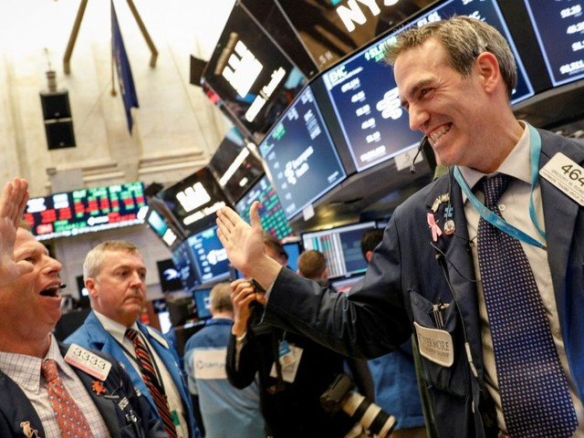 Stocks are making another big rebound after a volatile week