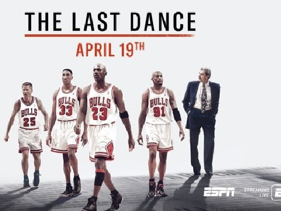 ESPN Moves Up Michael Jordan Docuseries 'The Last Dance' to a Mid-April Premiere