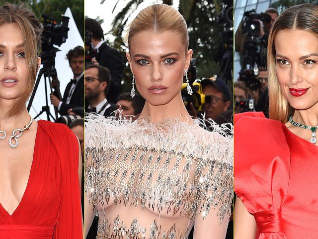 Josephine Skriver Joins Hailey Clauson & Cindy Bruna at 'La Belle Epoque' Cannes Premiere!