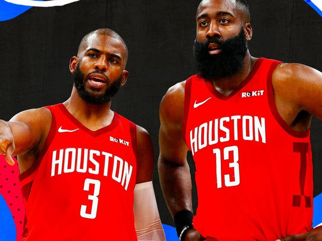 How Chris Paul and James Harden perfected the 'your turn, my turn' offense