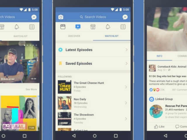 Facebook Watch: Coming Soon To An App Near You