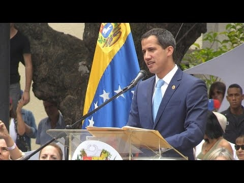 Guaido Calls For Major March Against Maduro