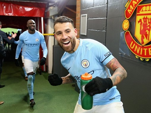 Man Utd and Man City players fight in tunnel after derby