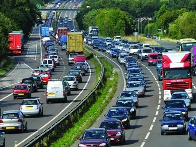 A12 crash: two people cut free