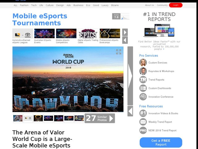 Mobile eSports Tournaments - The Arena of Valor World Cup is a Large-Scale Mobile eSports Event (TrendHunter.com)