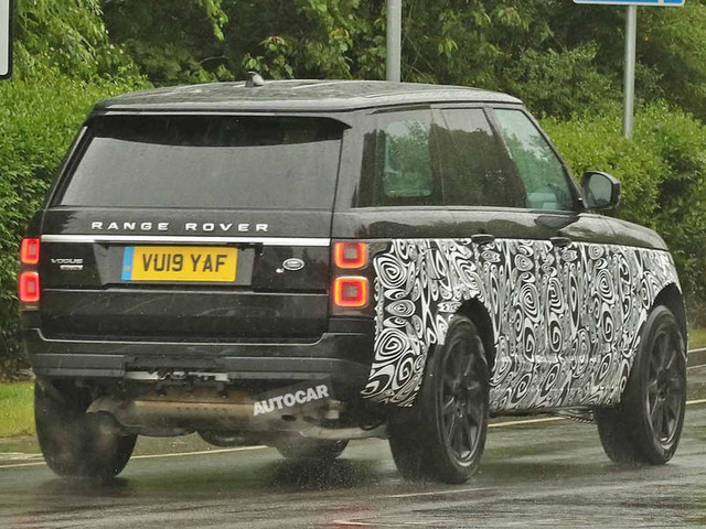 New 2021 Range Rover: first prototypes seen testing