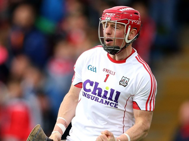 Cork goalkeeper Anthony Nash wasn't in the least bothered by 'sliotar gate' incident