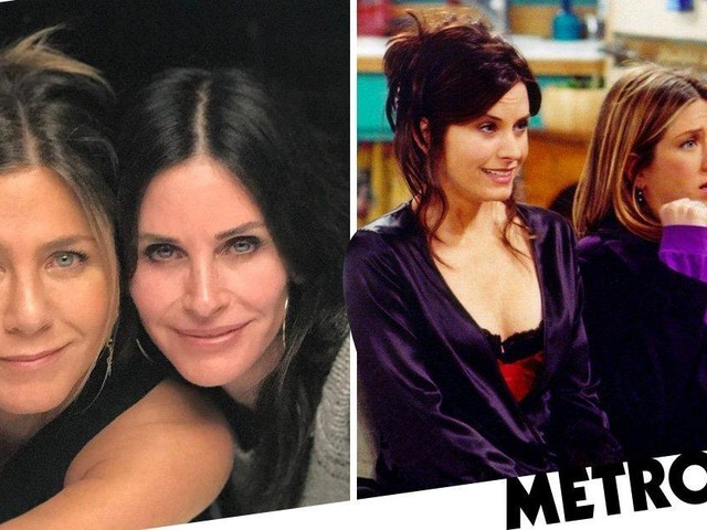 Courteney Cox behind another mini Friends 'reunion' for Mexican birthday trip with Jennifer Aniston