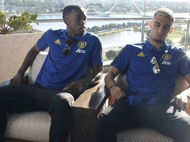 Aaron Wan-Bissaka and Andreas Pereira Manchester United fans Q&A in full