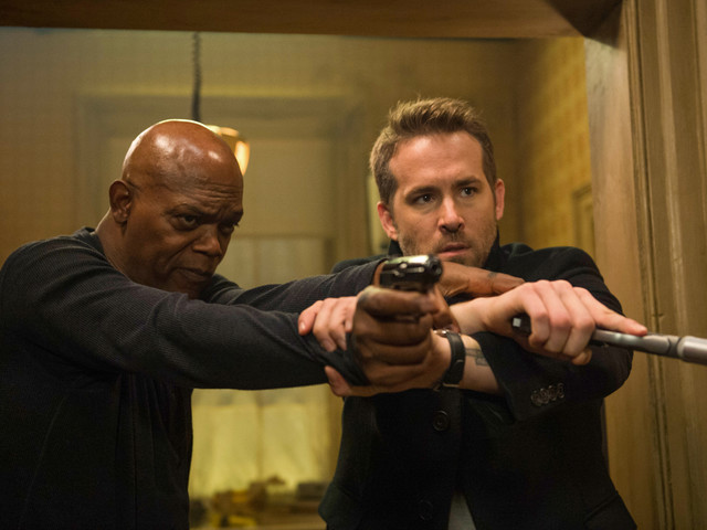 Exclusive: 'The Hitman's Bodyguard' Gag Reel Features Ryan Reynolds & Samuel L. Jackson Flubbing Lines