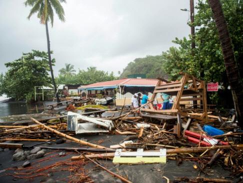 'Potentially catastrophic' Maria eyes Virgin Islands, Puerto Rico