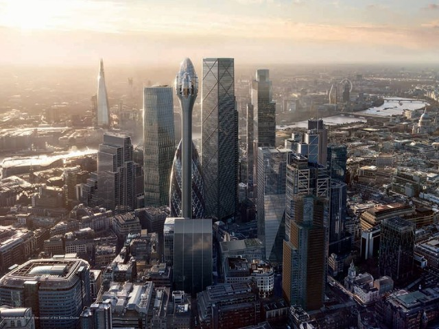 Proposed Tulip skyscraper breaches London regulations