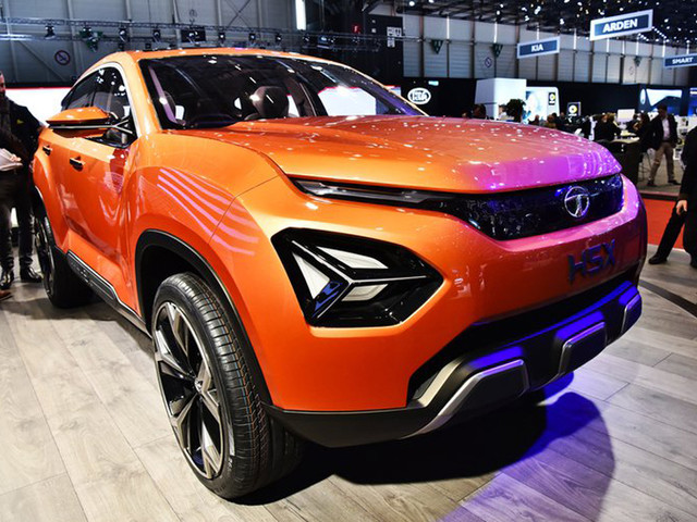 Tata H5X, 45X concepts showcased at Geneva