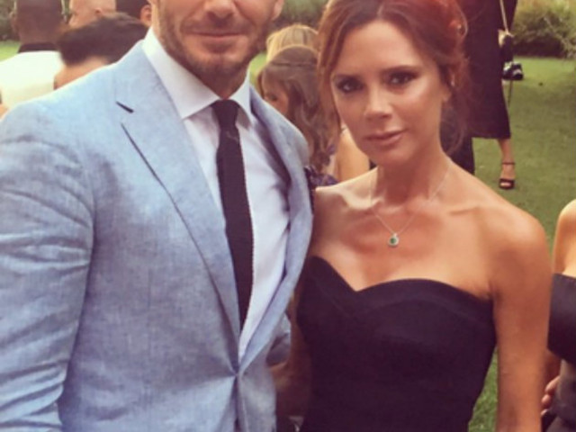 David Beckham calls wife Victoria a VERY rude word after she shares embarrassing video of him