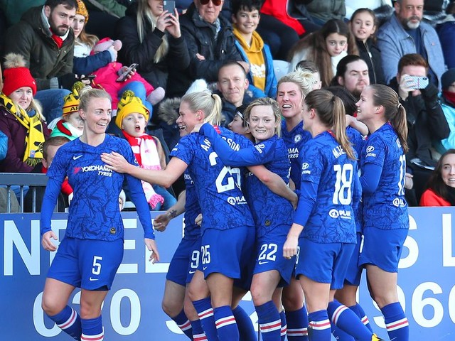 WATCH: Chelsea FCW go nuclear on Arsenal in the first half
