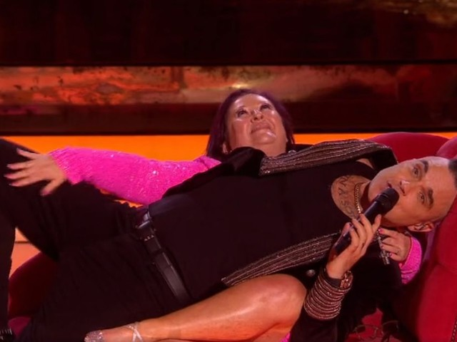 ITV viewers have 'Sunday ruined' as 'Julie from Norfolk' gets personal with Robbie Williams