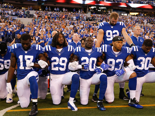 Celebrities Weigh In With Their Takes On The NFL's League-Wide Anthem Protests