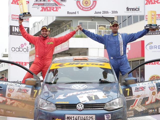 2019 INRC: Dean Mascarenhas wins South India Rally