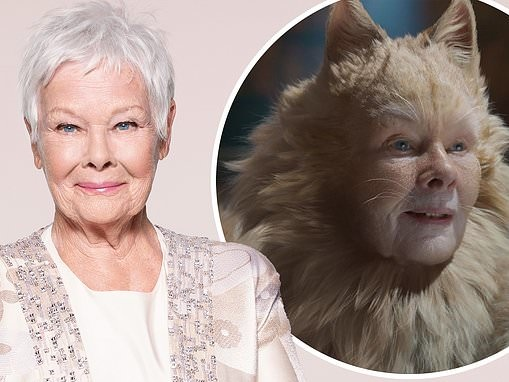 Dame Judi Dench admits she was NOT impressed with how she looked in Cats