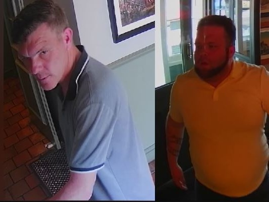 Police hunt two men after pub is targeted by thieves